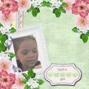 Such a SWEET girl! (adb)