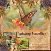 """""""catching butterflies"""" (ADB)"""