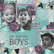 My favorite Boys 3 (JDunn)