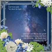 """And God said """"let there be light ... (ADB Designs)"""