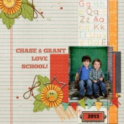 Chase & Grant love school!