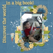 Discover the world in a big book!