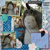 Disney 2008 (2)- Eeyore at Crystal Palace