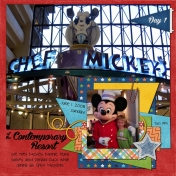 Disney 2008- Chef Mickey's