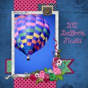 Balloon Fiesta 2012