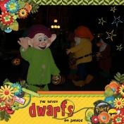 Seven Dwarfs on Parade