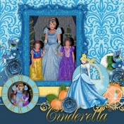 Cinderella at the Castle