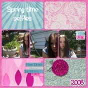 Springtime Selfies