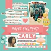 Happy Birthday Early!