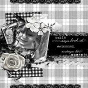Black and White- Dandelions