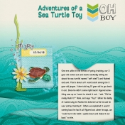 Adventures of a Sea Turtle Toy