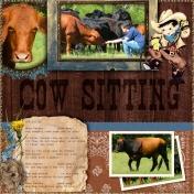 Cow Sitting