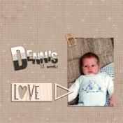 Dennis 3,5 weeks
