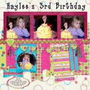 Daughters 3rd Birthday