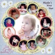 Haylee's First Year 2004