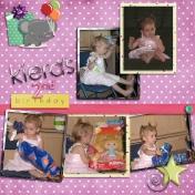 Kiera's birthday