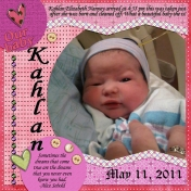 Kahlan our baby