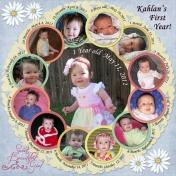 Kahlan First Year