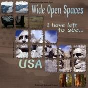 Wide Opens Spaces- Bucket List