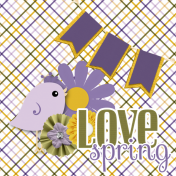 Love Spring Layout