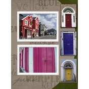 Ireland, colorful houses