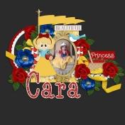 Beautiful princess Cara