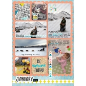 January Planner Page- Overview