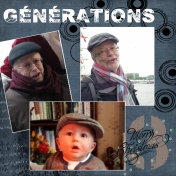 my darling grand son, grand father and grand grand father!!!