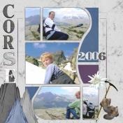 climbing in Corse