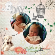baby Lucie christening