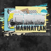 Layout Templates Kit #70 - Manhattan