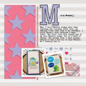 Album Challenge- M is for Monster