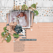 The Nifty Pixel - Pretty As a Picture Page Drafts - Welcome Amelia