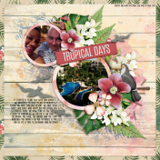The Nifty Pixel x JoCee Designs - Tropical Days