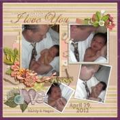 Daddy's Newborn Baby