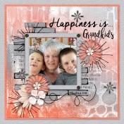 Happiness Is Grandkids