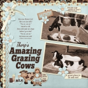 Amazing Grazing Cows