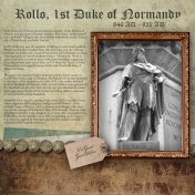 Family History Layout- Rollo of Normandy