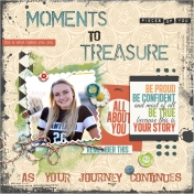 Moments to Treasure (Megan's Book Cover)