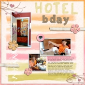 Hotel Bday
