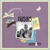 Cousins Krissy & Ben