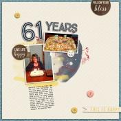 61 years