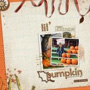 Lil' Pumpkin 2015