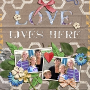 Love- Lives Here