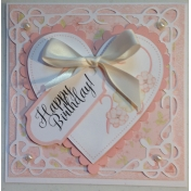 Fancy Girl Birthday Card