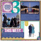 Project Life 2021- Week 3- Left Page