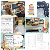 Project Life 2020- Week 10 Right Page