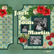 Jack & Joan Martin- 1935