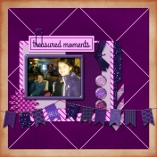 Purple Layout