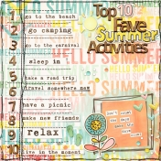 Top 10 Fave Summer Activities